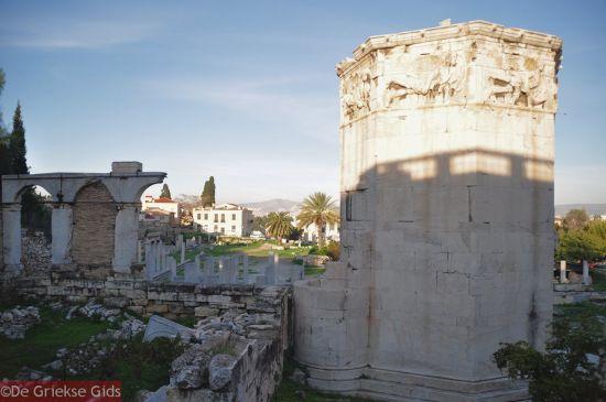 Romeins Forum Agora Athene